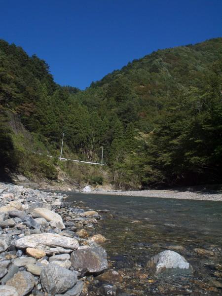 由良川の清流