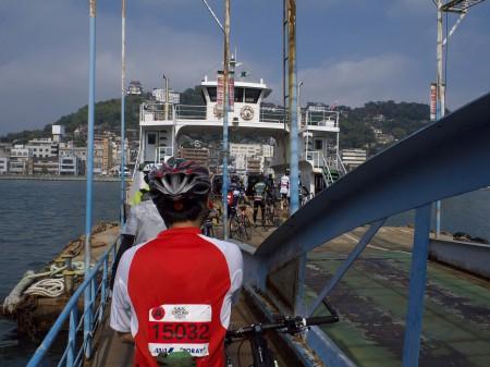 渡船で尾道へ