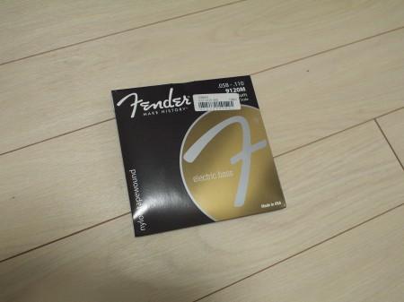 Fenderブラックナイロン弦9120M