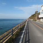 ずーっと続く播磨灘の海岸線