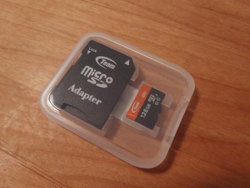 Team microSD 128GB