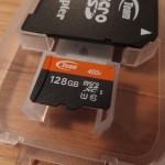 Team microSDカード 128GBを「Xperia Z Ultra SOL24」で運用する