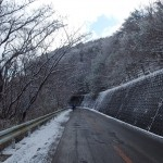 冬の残雪ヒルクライム!! 大阪市内から五月山~能勢・亀岡方面へ走る!