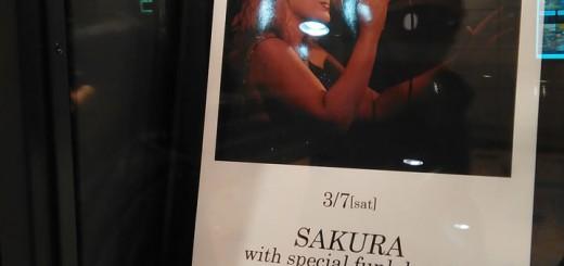 SAKURA with special funk band@Billboard Live Osaka