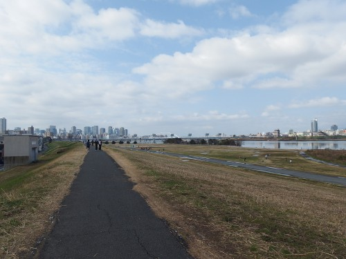 淀川を南下