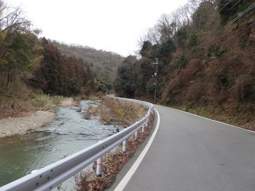 猪名川沿いR12