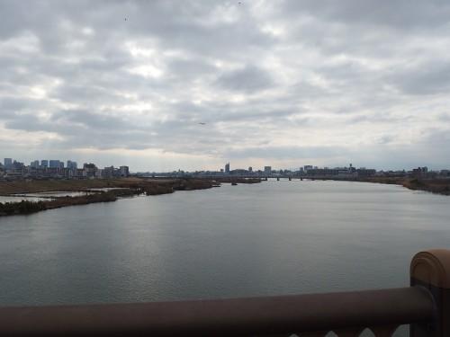 無事に淀川に帰還