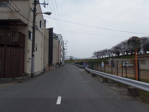 淀川沿いを南下