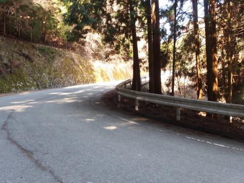 素敵な峠道