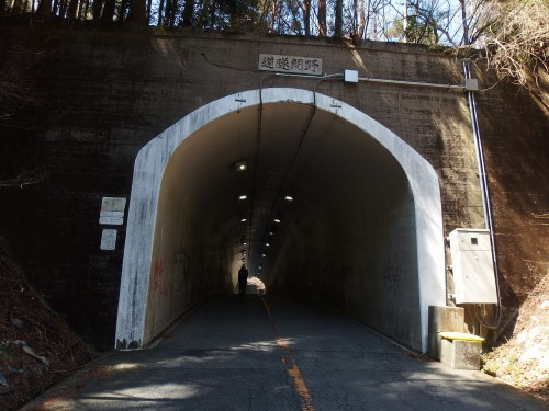 野間トンネルを越える
