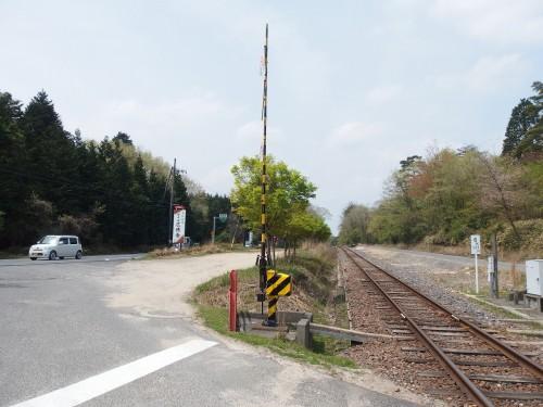 信楽高原鐵道の線路