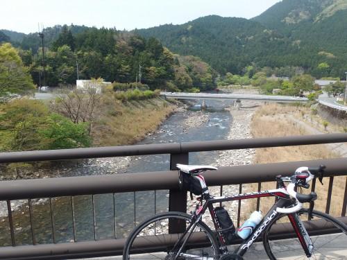 野洲川を望む