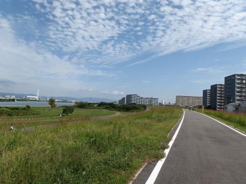 淀川CRを京都方面へ