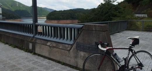 日吉ダムへ