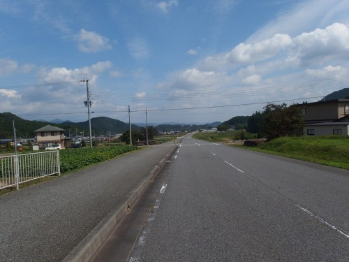 R36で篠山市街地方面へ