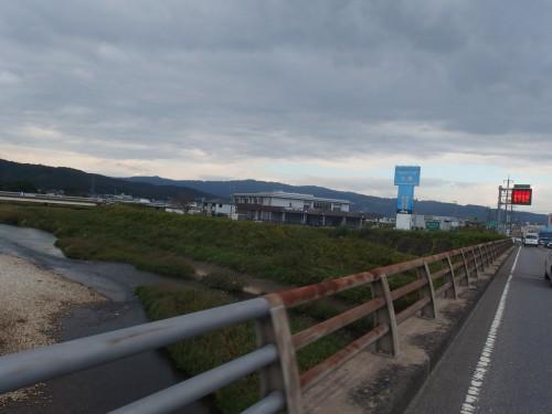 木津川へ到着!