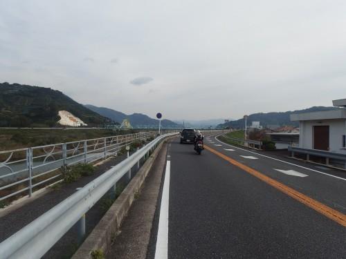 有田を走る