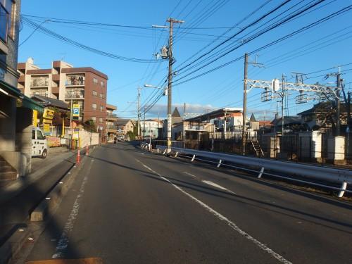 阪急に沿って北上