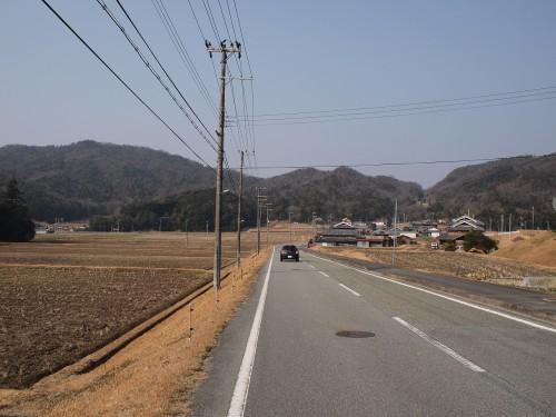 三田を走る