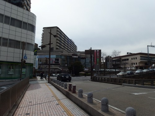 逆瀬川駅の辺り