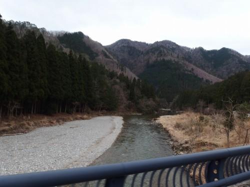由良川を望む