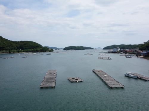 素敵な湾の景色