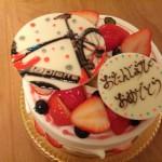 自転車好き歓喜間違いなし!?素敵すぎる誕生日ケーキをもらいました!