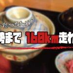【簡潔レポート】牛丼を食べるために、ロードバイクで伊勢まで160km走れ!!